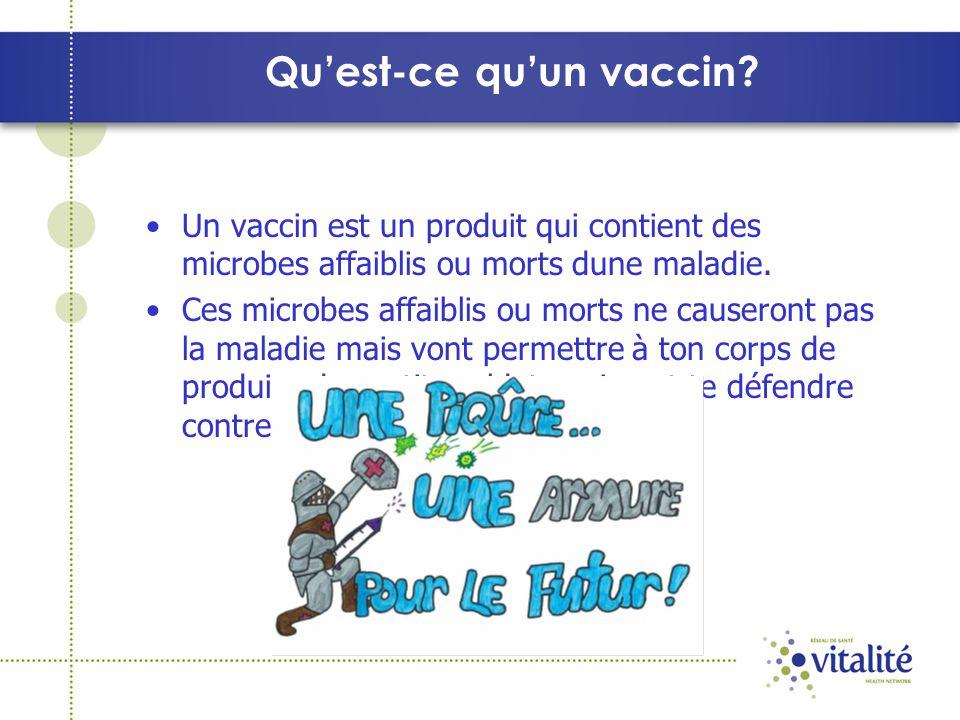 Qu'est-ce qu'un vaccin