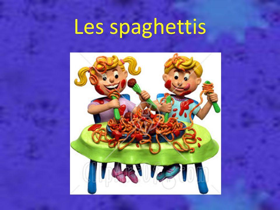 Les spaghettis