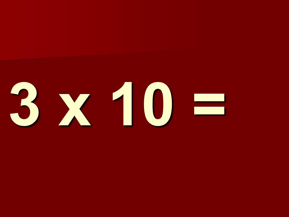 3 x 10 = 141