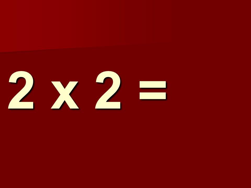 2 x 2 = 161