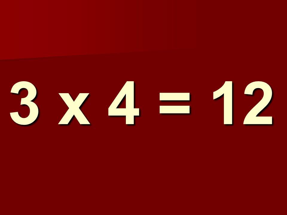 3 x 4 = 12 165