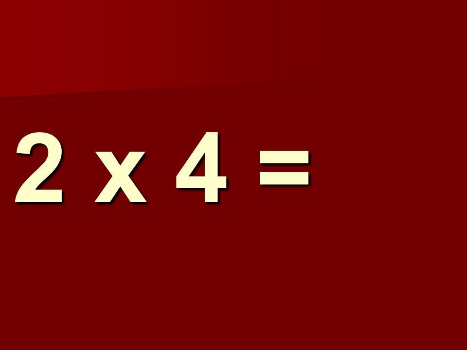 2 x 4 = 235