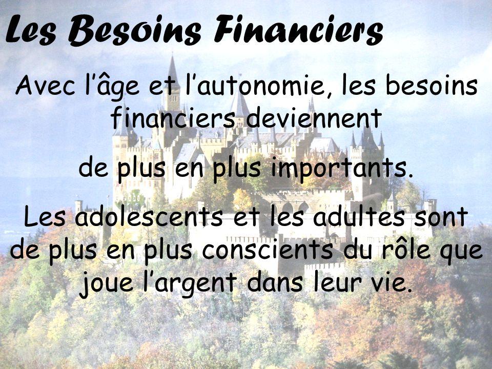 Les Besoins Financiers