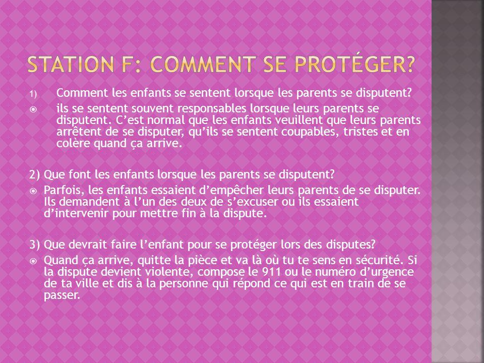 Station F: Comment se protéger