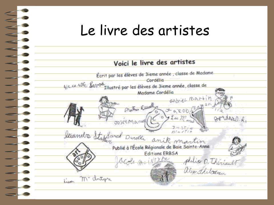 Le livre des artistes