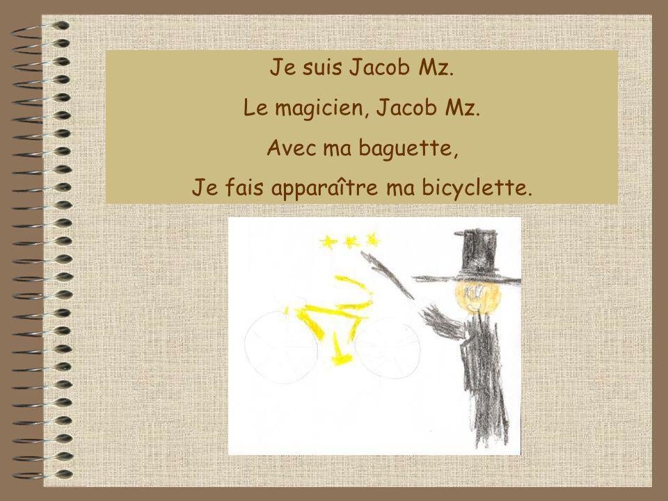 Je fais apparaître ma bicyclette.