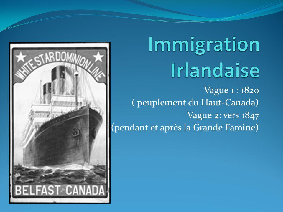 Immigration Irlandaise