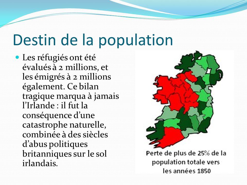 Destin de la population