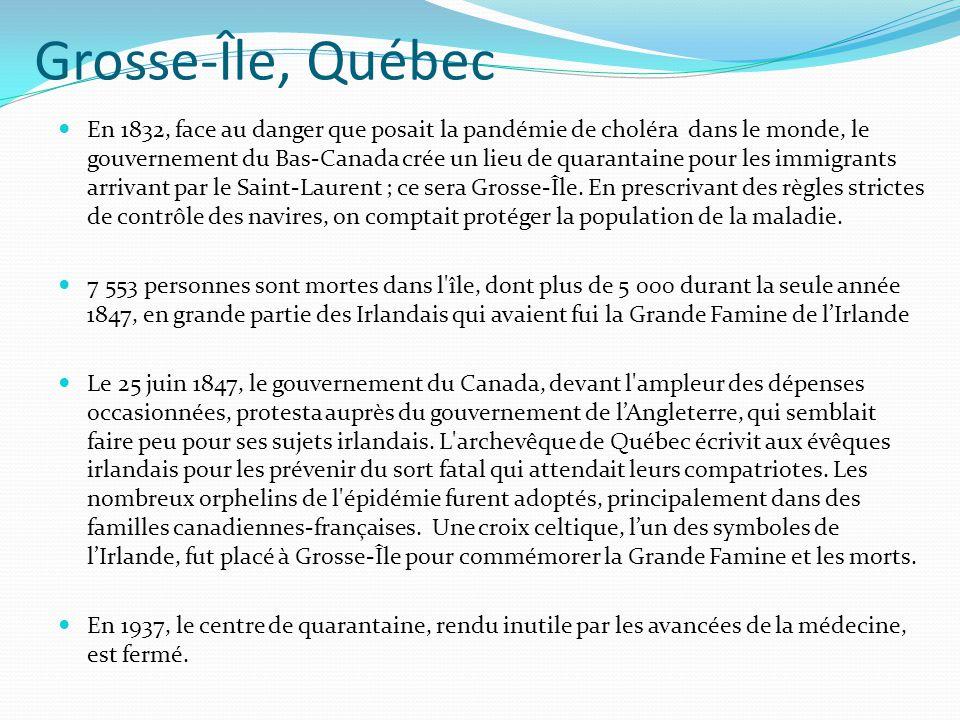 Grosse-Île, Québec