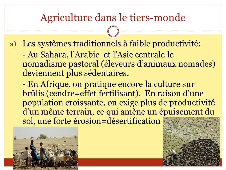 Agriculture dans le tiers-monde