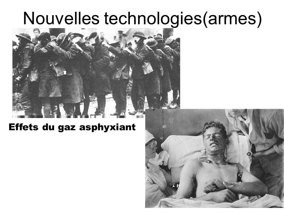 Nouvelles technologies(armes)