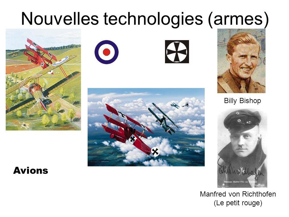 Nouvelles technologies (armes)