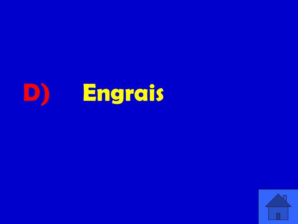 D) Engrais