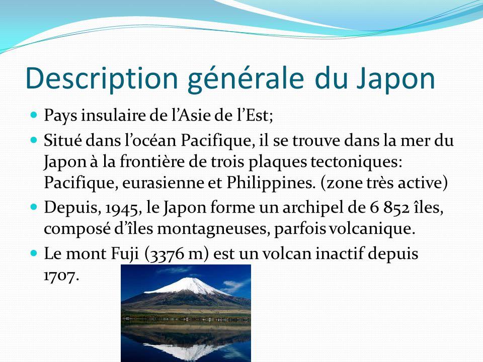Description générale du Japon