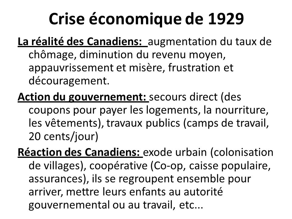 Crise économique de 1929