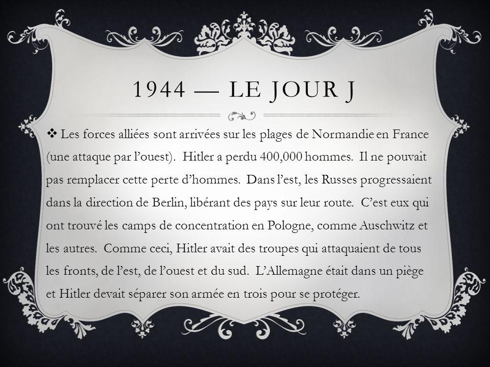1944 — Le Jour J