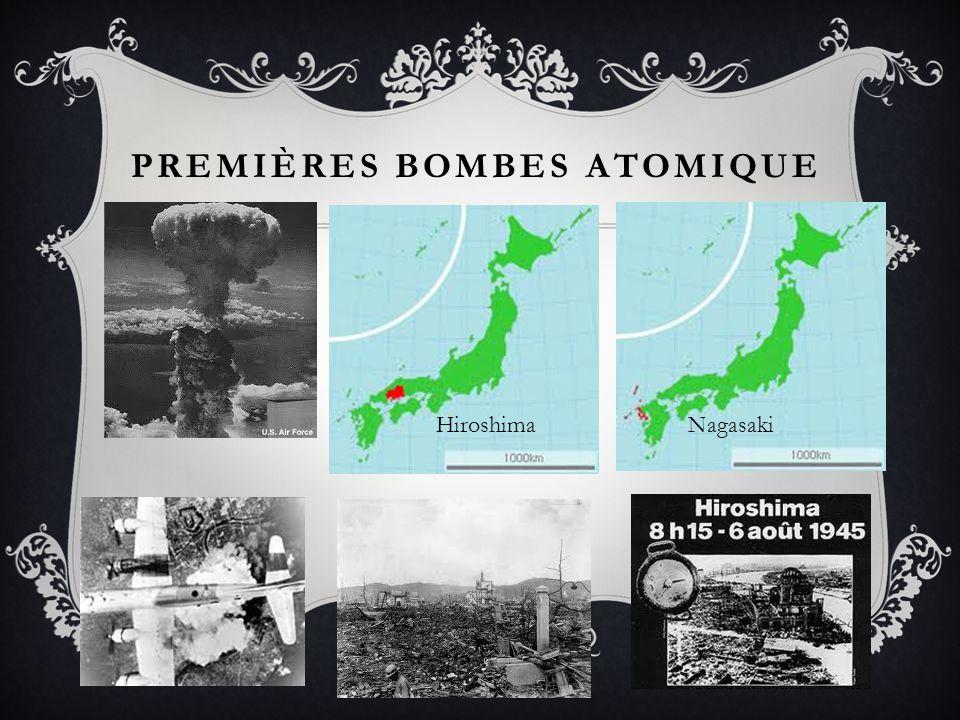Premières bombes atomique