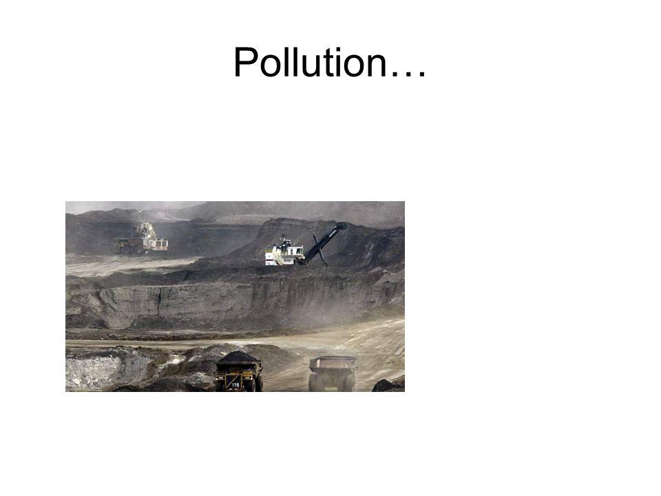 Pollution…