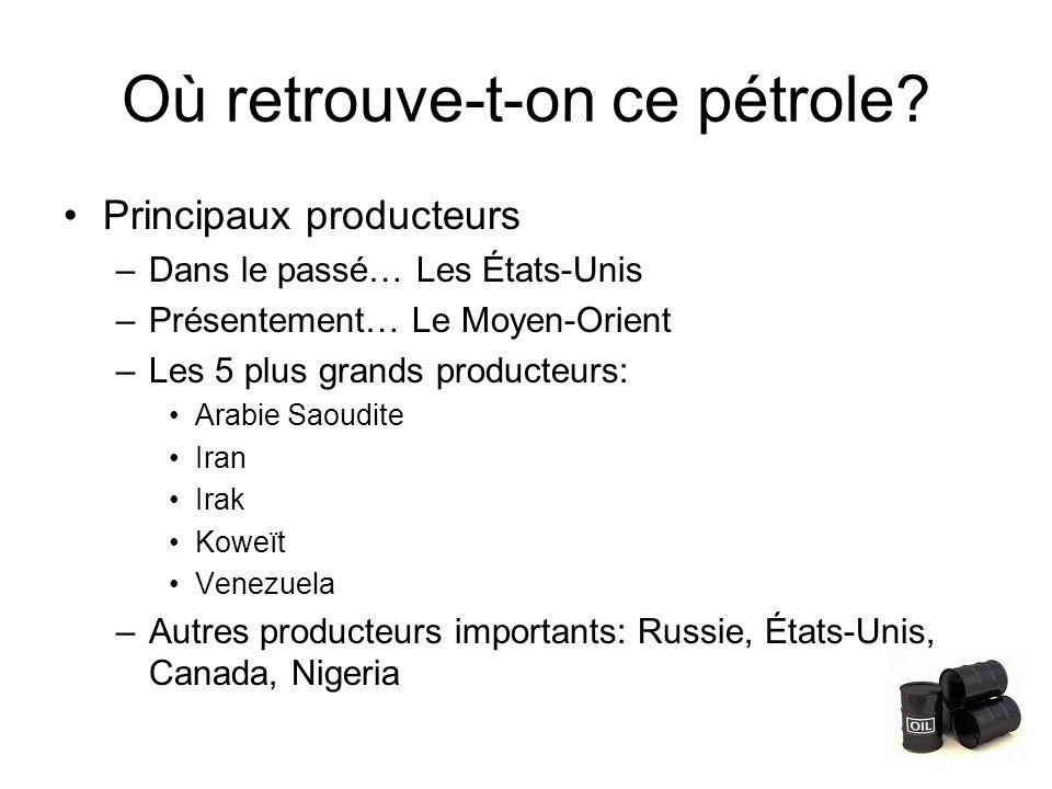 Où retrouve-t-on ce pétrole