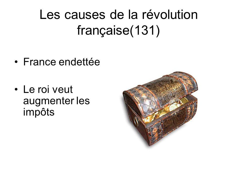 Les causes de la révolution française(131)