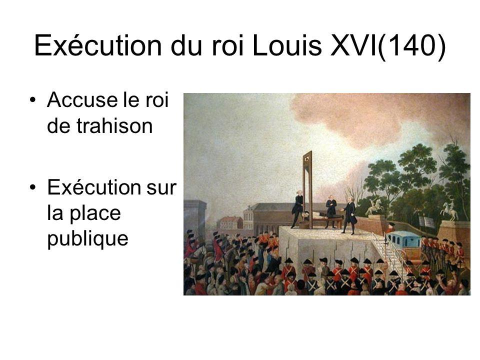 Exécution du roi Louis XVI(140)