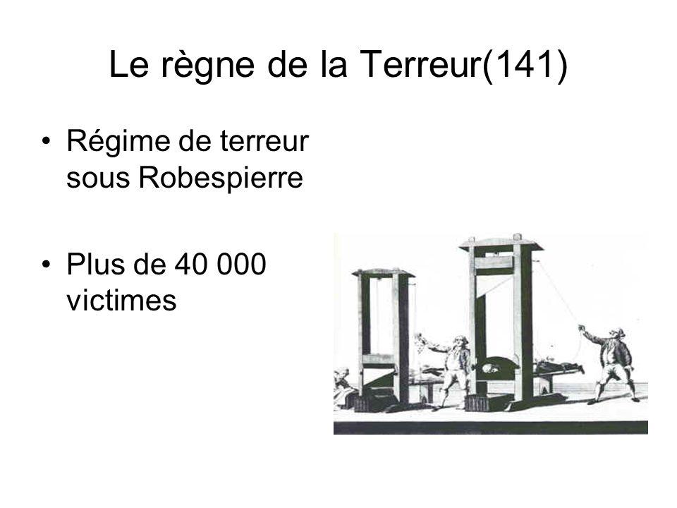 Le règne de la Terreur(141)