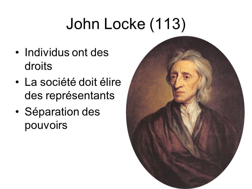 John Locke (113) Individus ont des droits