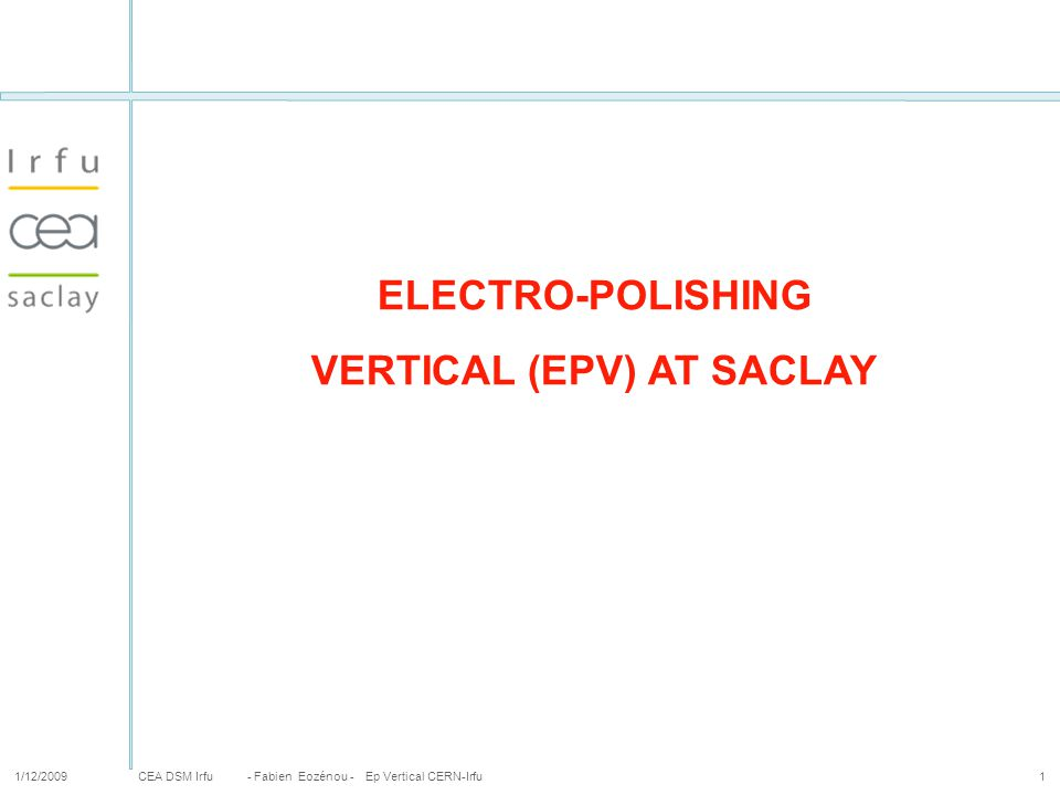 VERTICAL (EPV) AT SACLAY