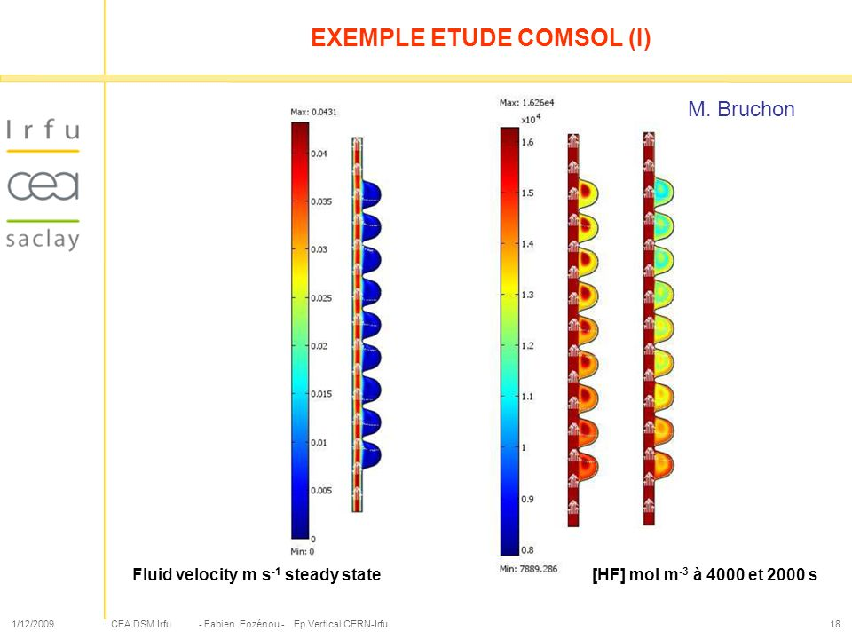 EXEMPLE ETUDE COMSOL (I)