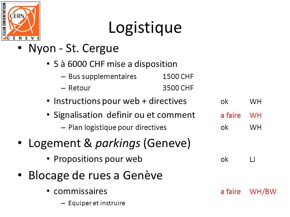 Logistique Nyon - St. Cergue Logement & parkings (Geneve)