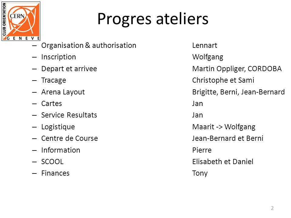 Progres ateliers Organisation & authorisation Lennart
