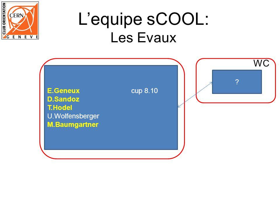 L'equipe sCOOL: Les Evaux