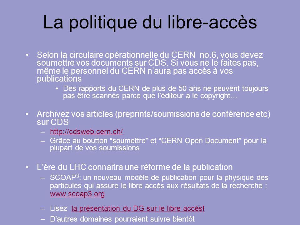 La politique du libre-accès