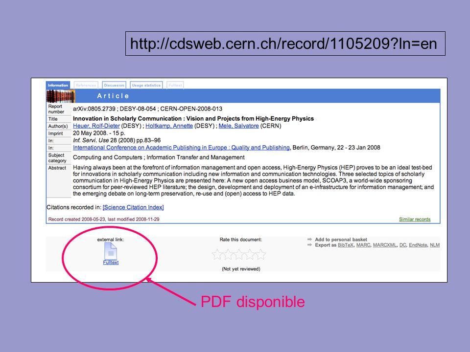 http://cdsweb.cern.ch/record/1105209 ln=en http://cdsweb.cern.ch/record/1115073 ln=en.
