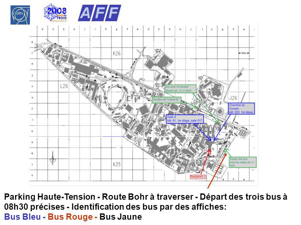 Bus Bleu - Bus Rouge - Bus Jaune