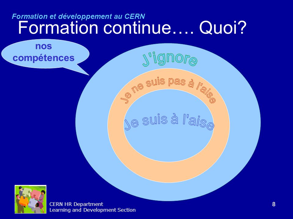 Formation continue…. Quoi