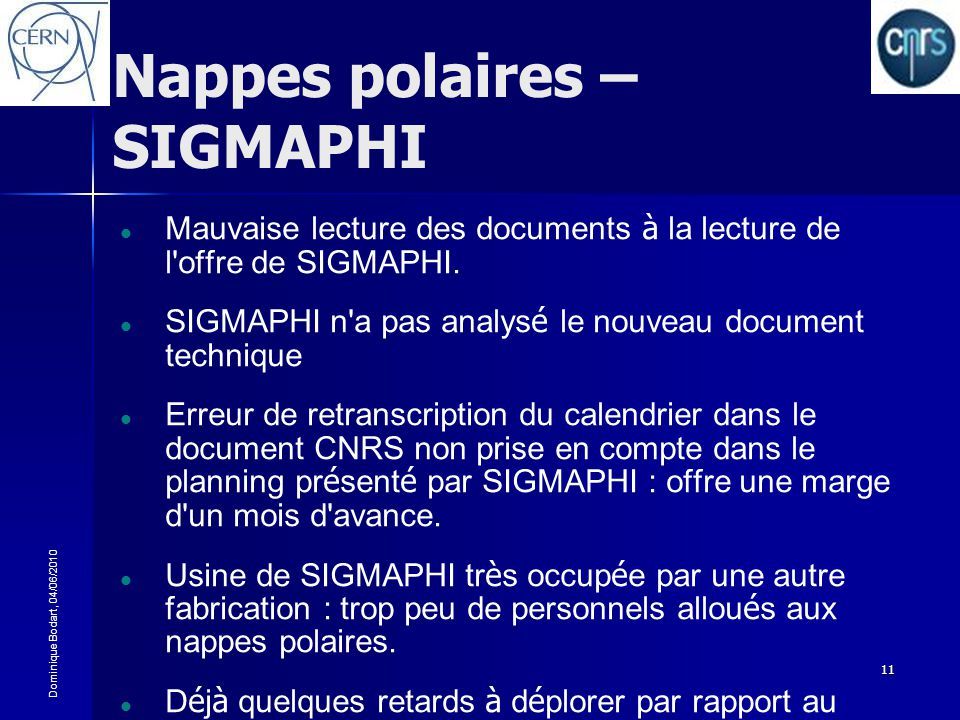 Nappes polaires – SIGMAPHI