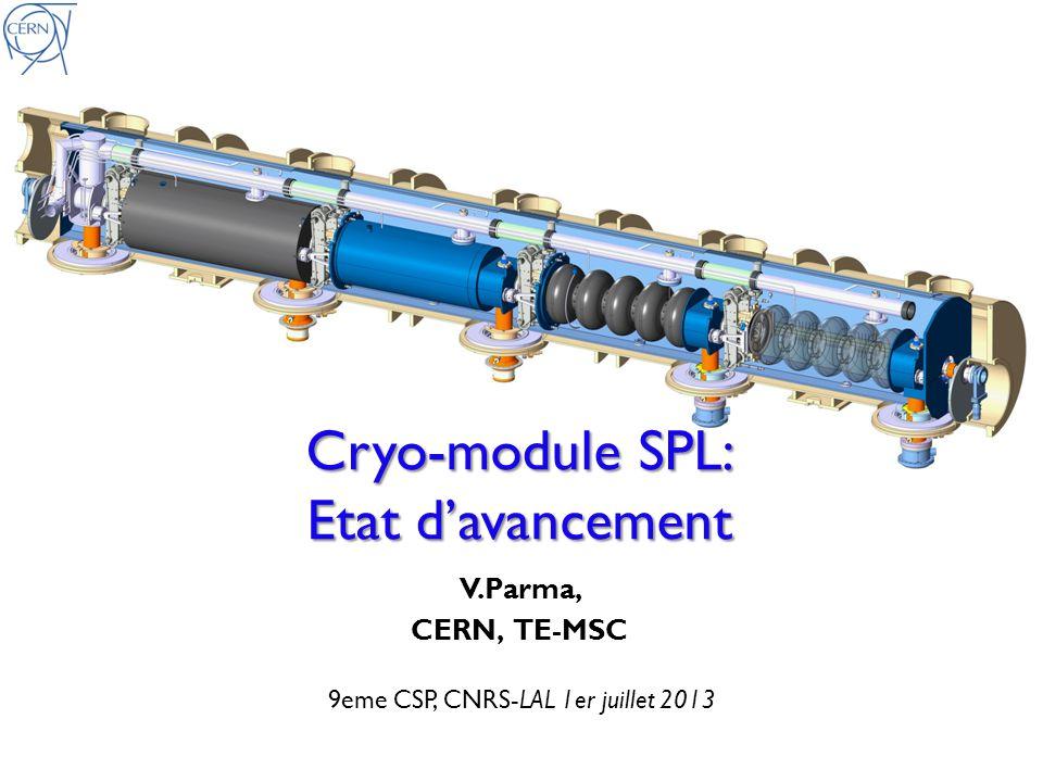9eme CSP, CNRS-LAL 1er juillet 2013
