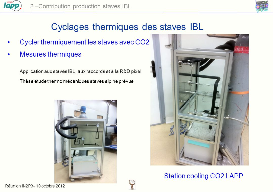 Station cooling CO2 LAPP