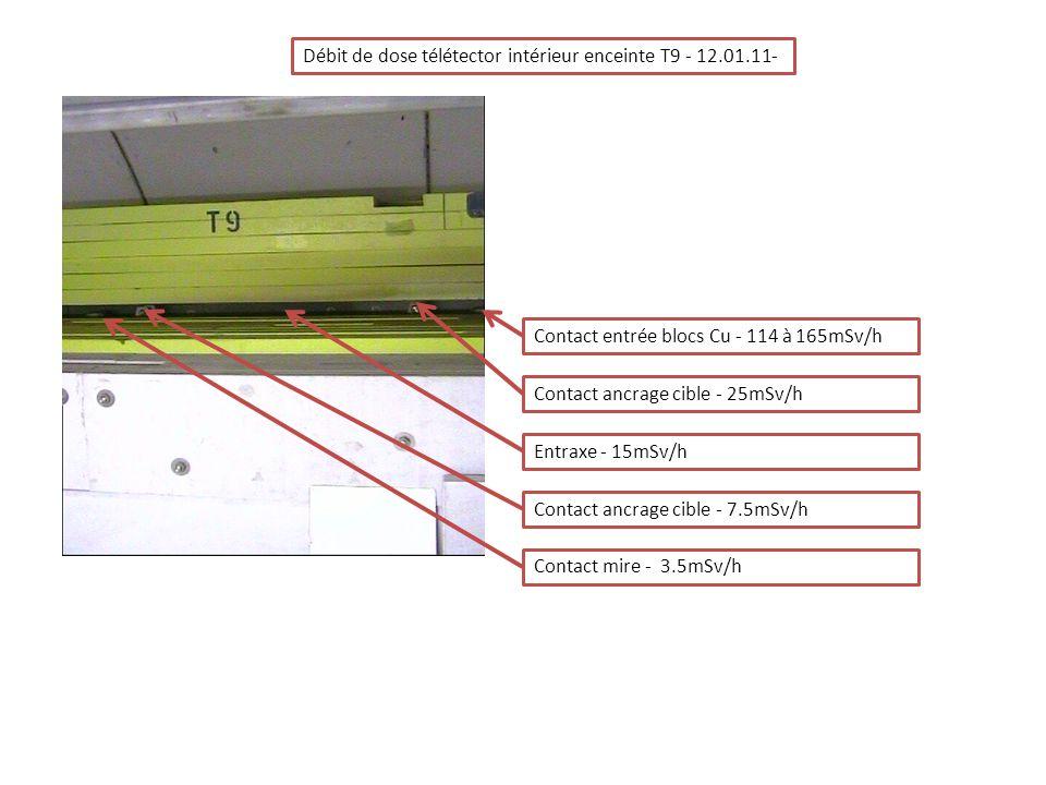 Débit de dose télétector intérieur enceinte T9 - 12.01.11-