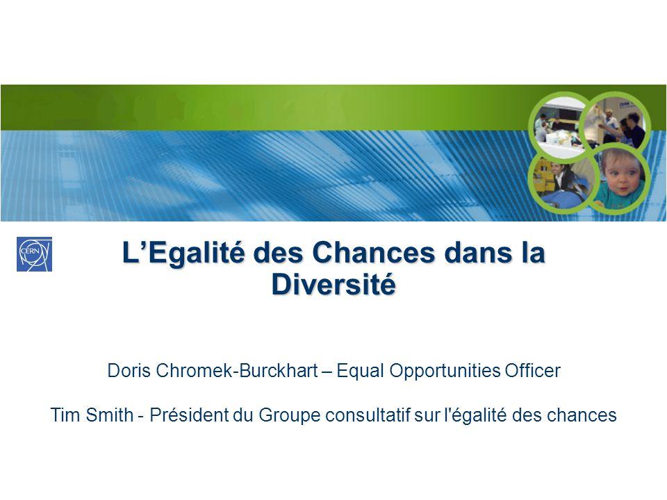 L'Egalité des Chances dans la Diversité