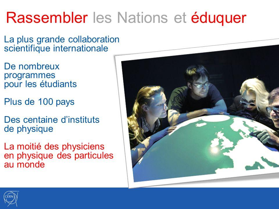 Rassembler les Nations et éduquer