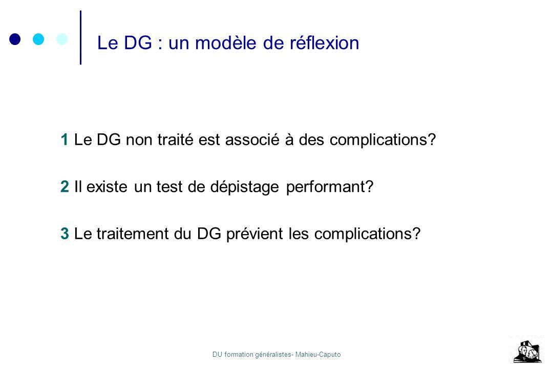 Le DG : un modèle de réflexion