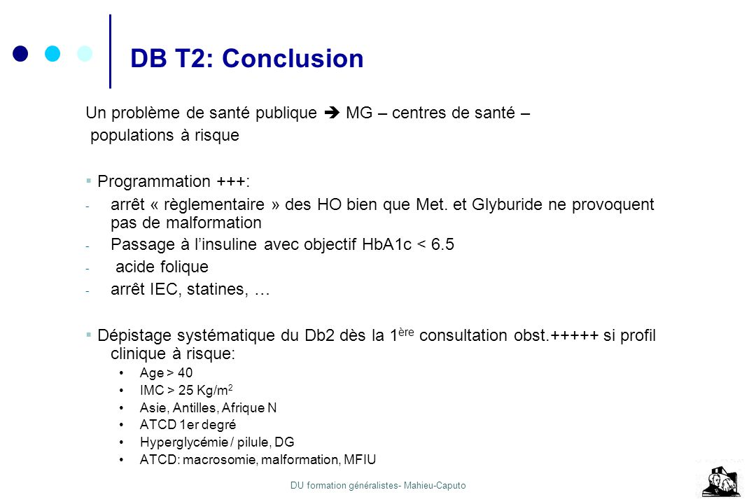 DB T2: Conclusion ▪ Programmation +++: