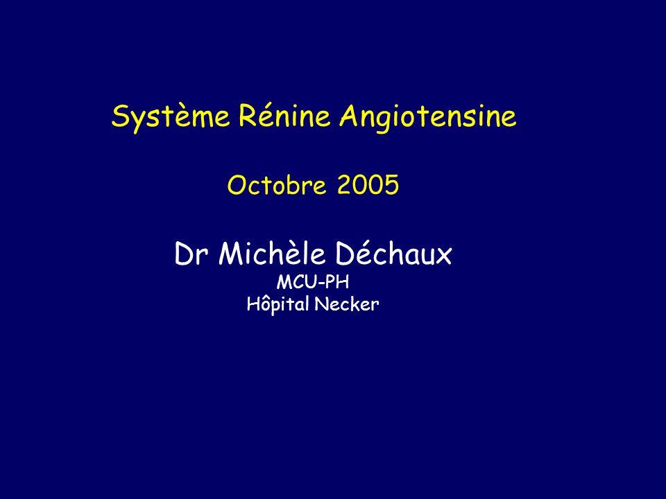 Système Rénine Angiotensine