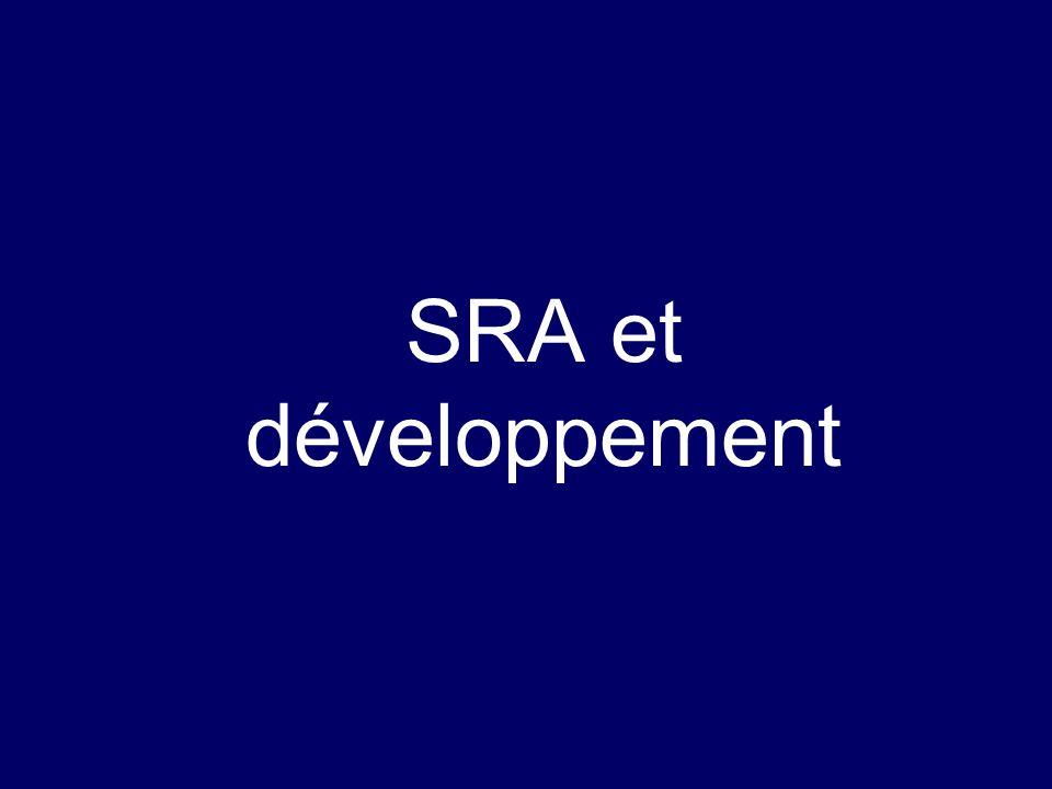SRA et développement