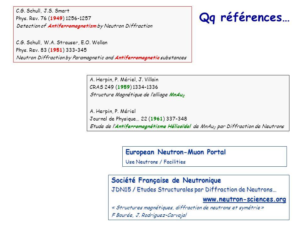 Qq références… European Neutron-Muon Portal