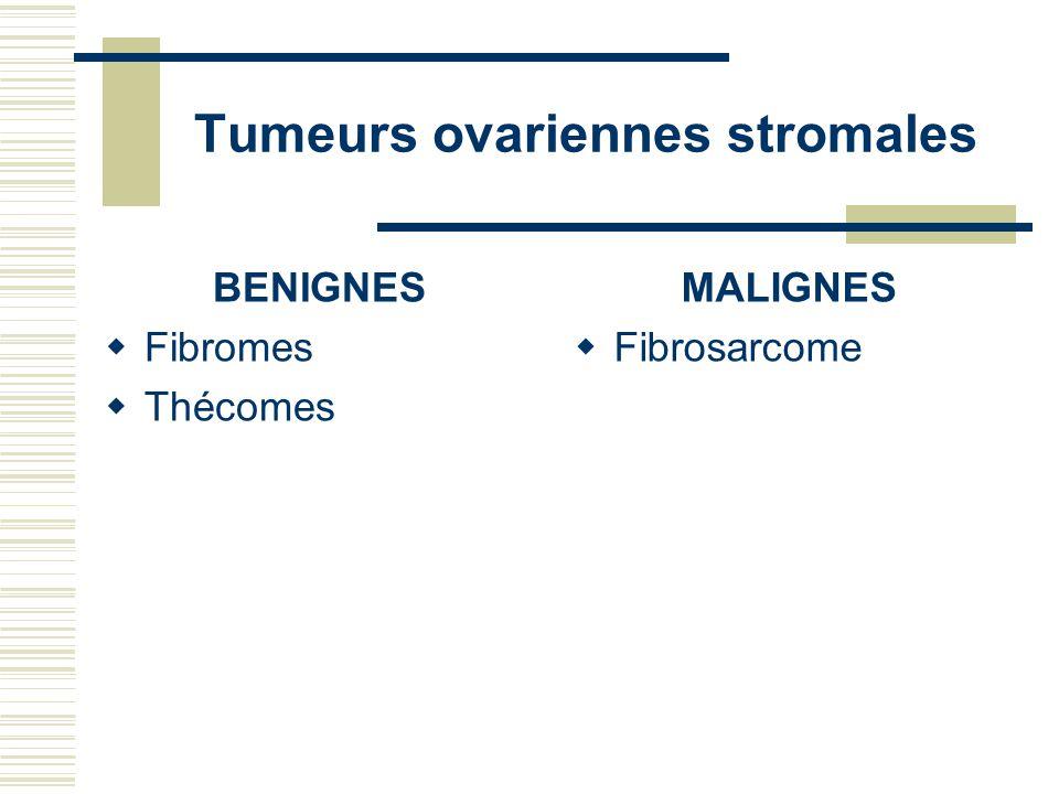 Tumeurs ovariennes stromales