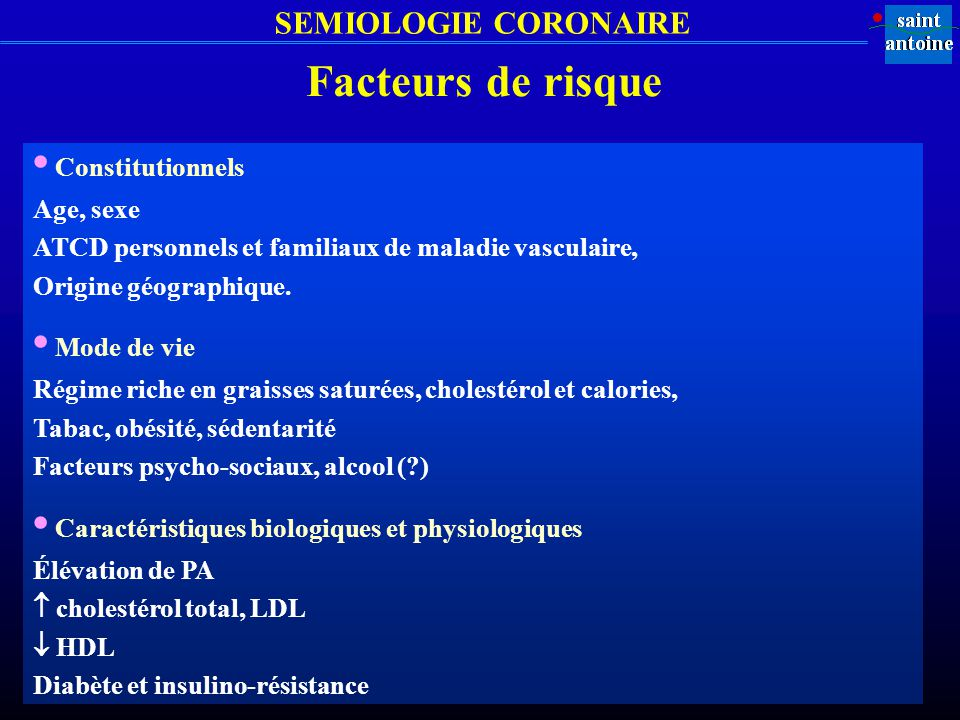 • Caractéristiques biologiques et physiologiques