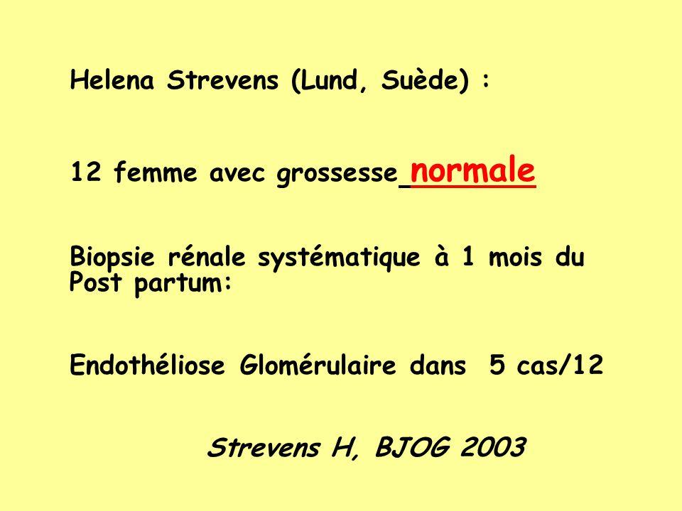 Helena Strevens (Lund, Suède) :